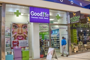 Goodlife Pharmacy mall store